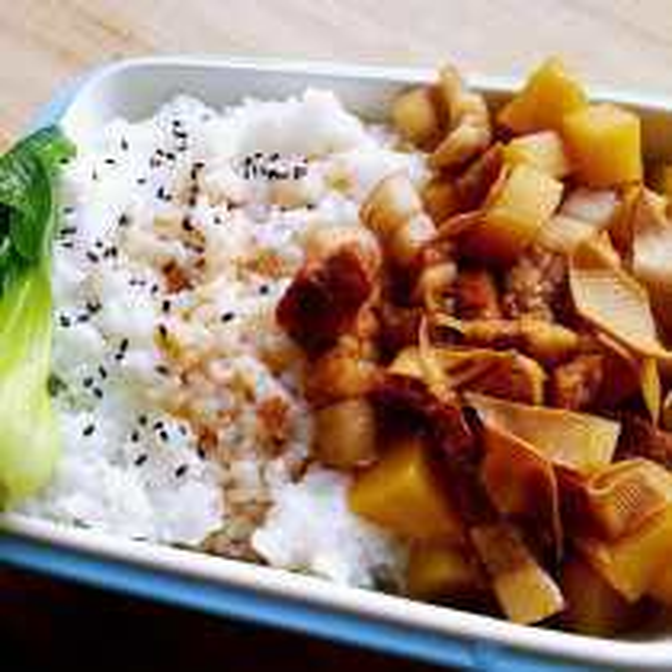 秋葵土豆盖饭
