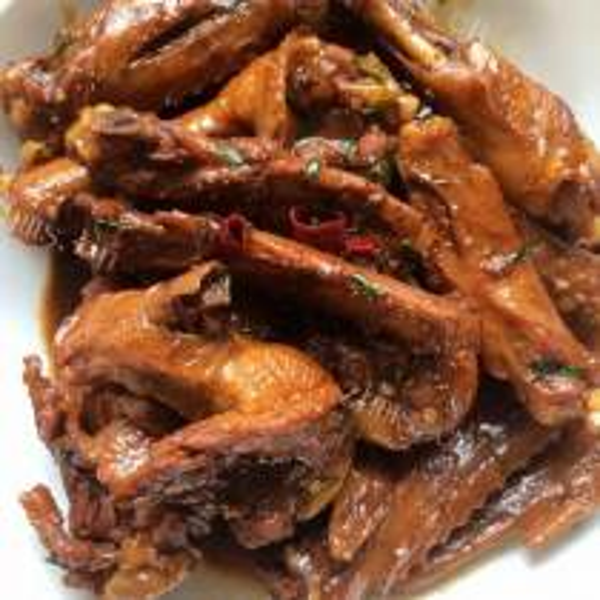 黄豆煲鸭翅