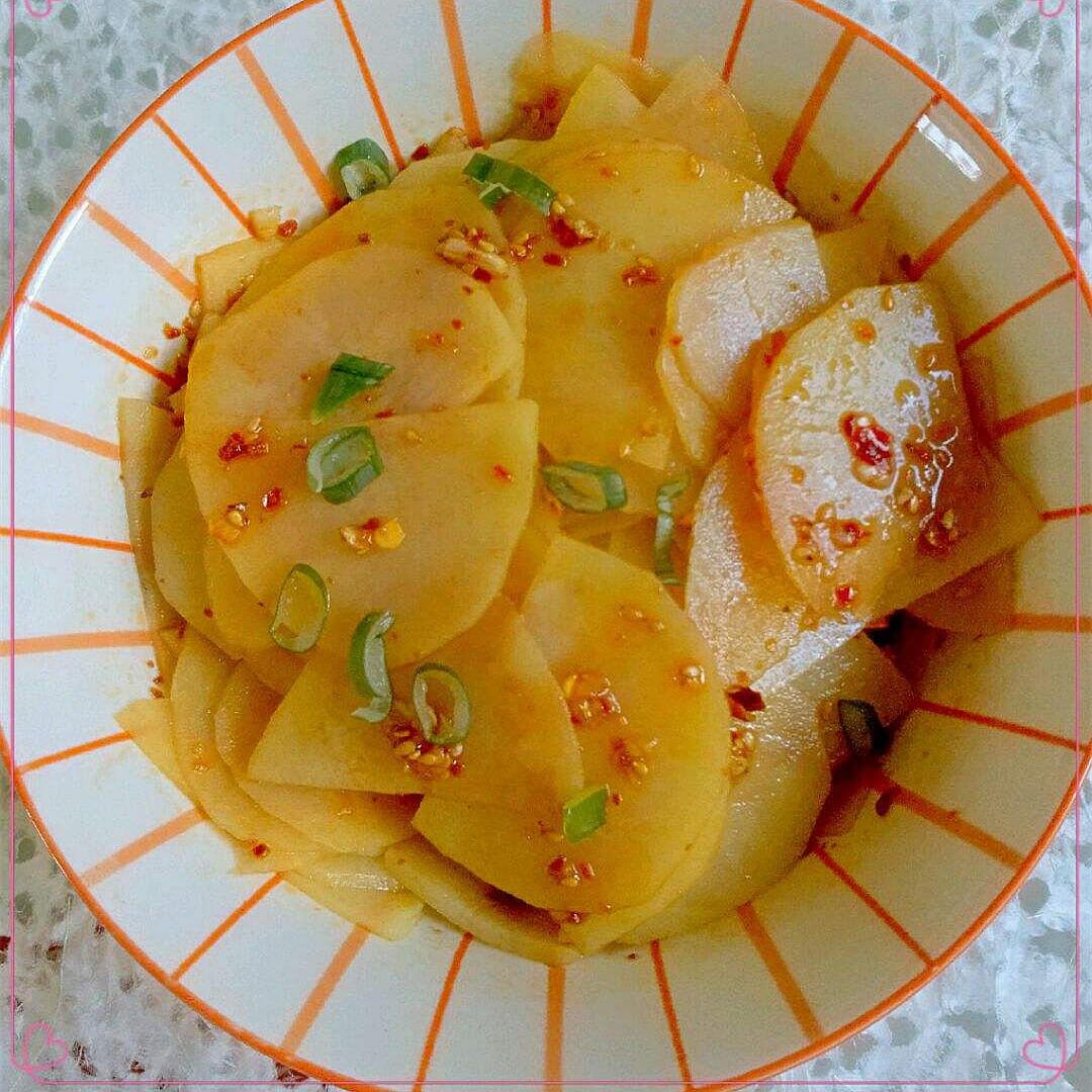 美味炝土豆片