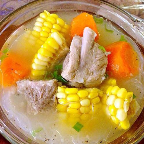 玉米胡萝卜螺片汤