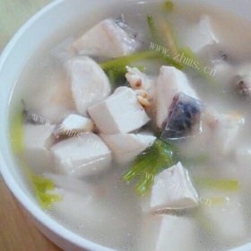 豆腐鱼肉汤