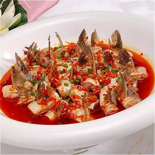 美味的剁椒鱼鳍