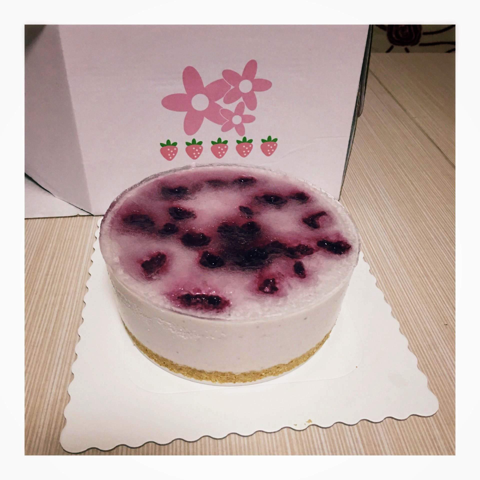 蓝莓火龙果酸奶慕斯