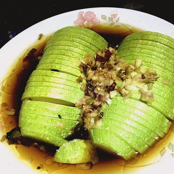 美味的创新菜……清蒸西葫芦