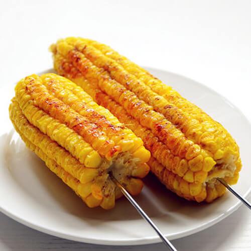 简单椒盐烤玉米