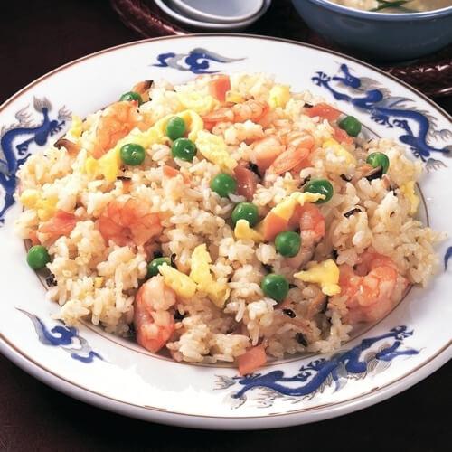 夕阳糙米炒饭