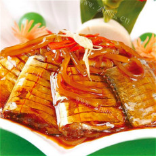 萝卜丝烧带鱼