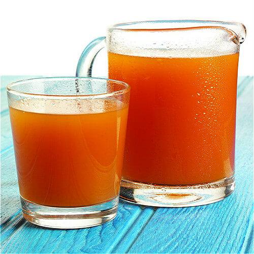 爽口的红萝卜汁