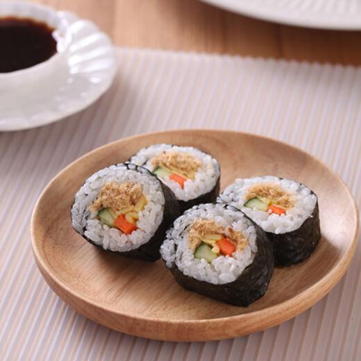 快捷的三丁肉松寿司