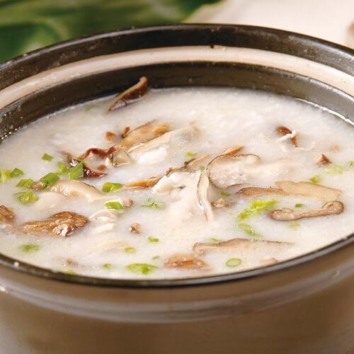 海味香菇粥