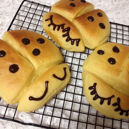 无油红薯面包