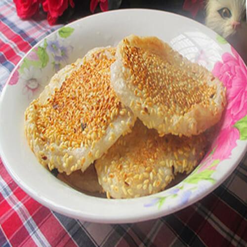花形南瓜糯米饼