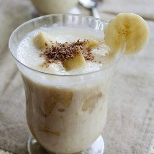 冻酸奶香蕉