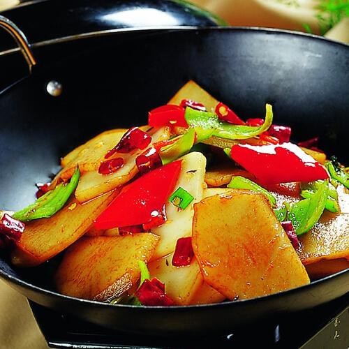 干锅土豆条