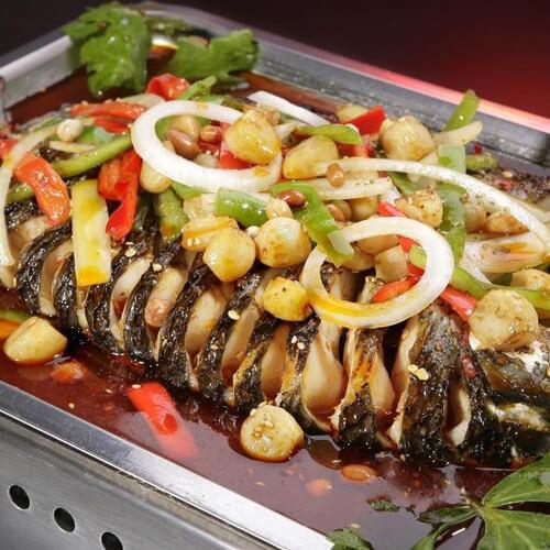 美味的烤箱烤鱼
