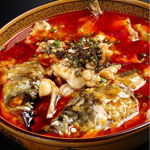 鲜美的鱼头火锅