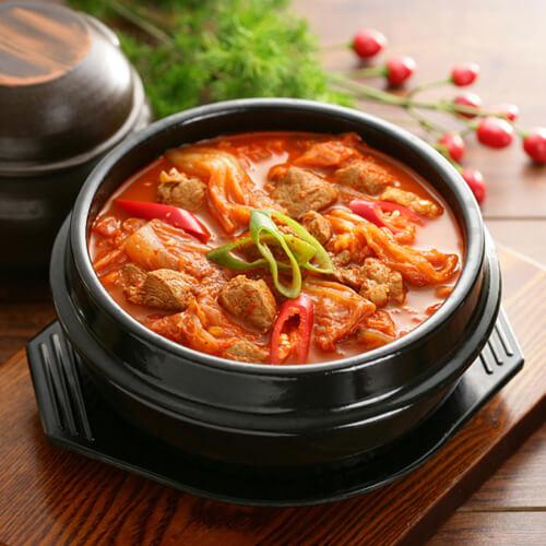 在家做的泡菜汤