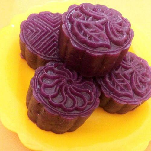 简易的紫薯饼
