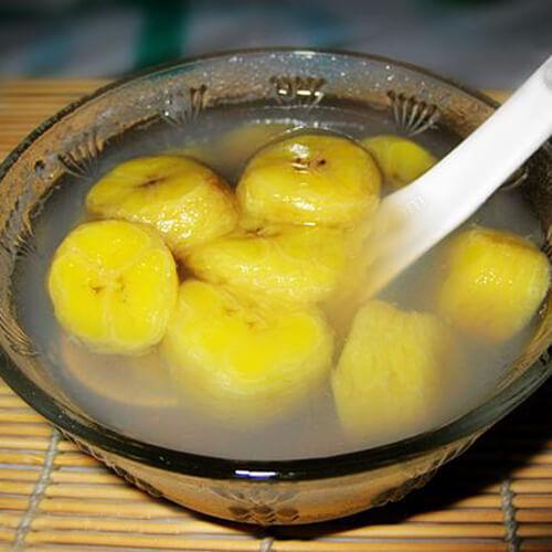 绿豆香蕉糖水