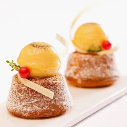 南瓜造型苹果酱蛋糕