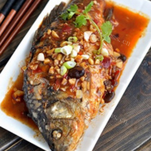香煎海鲫鱼