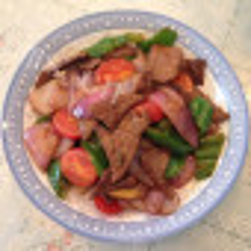 简单易做的洋葱炒猪肝