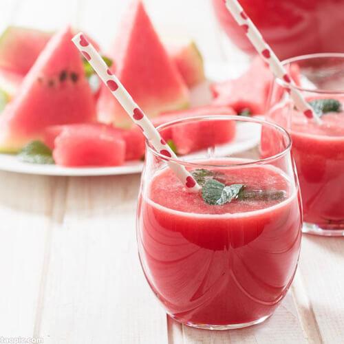 白梨西瓜苹果汁