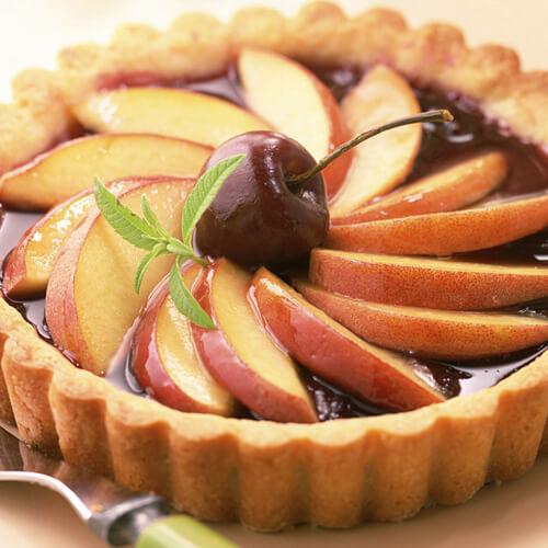可口的苹果馅饼