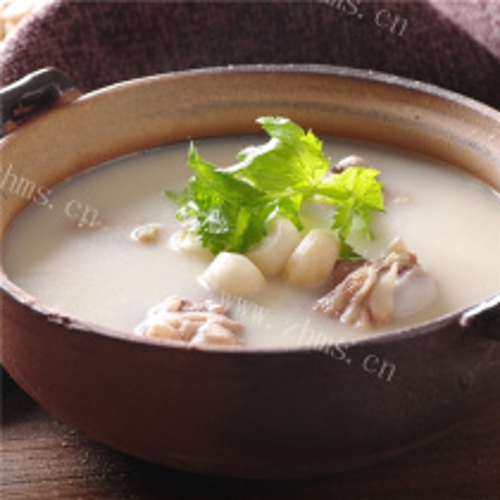 小香芋土人参叶汤