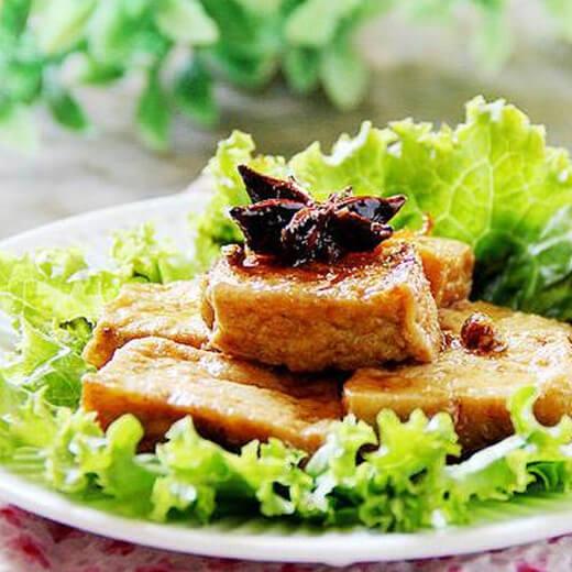 沙茶酱焖豆腐