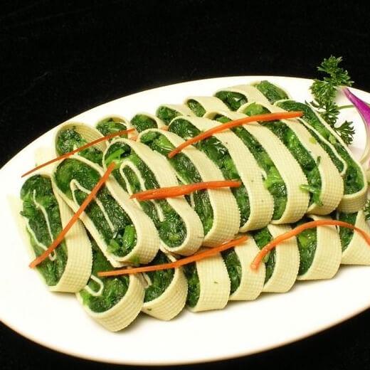 黄瓜豆腐卷