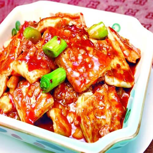 剁椒肉沫豆腐