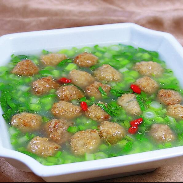 美味丸子汤