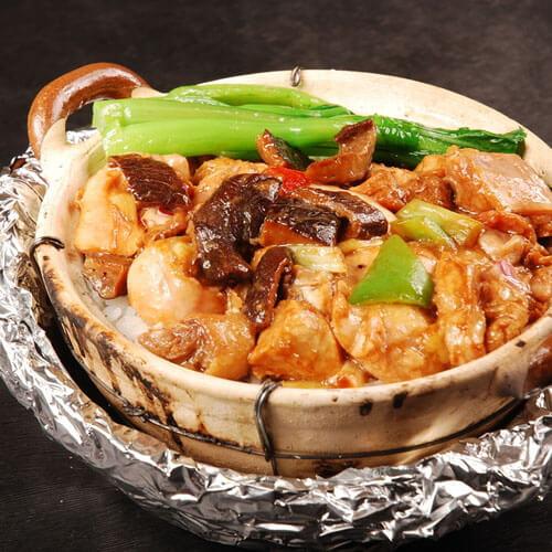 香菇锅仔饭