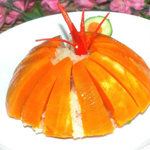 南瓜白米饭
