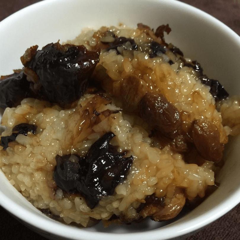 美味的红枣糯米饭