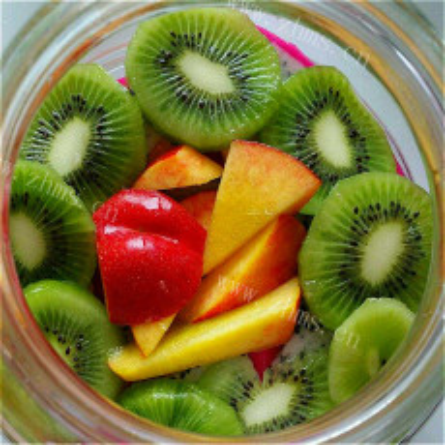 可口的自制水果酵素