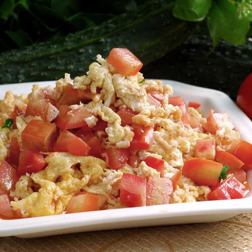 小熊番茄炒蛋饭