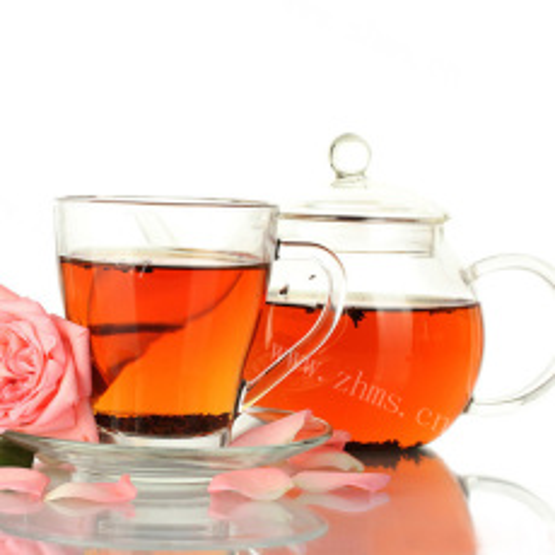 女生的玫瑰柠檬茶