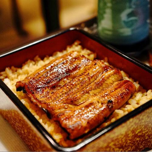 美味锦绣蛋丝鳗鱼饭