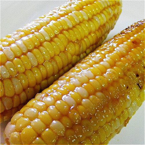 自己做的烤玉米