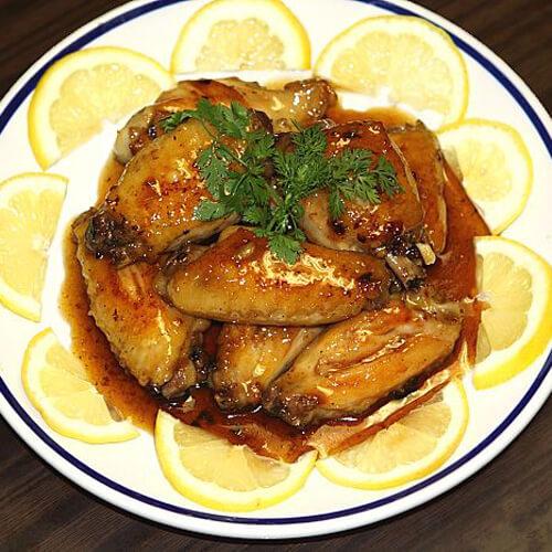日式烧汁煎鸡翼
