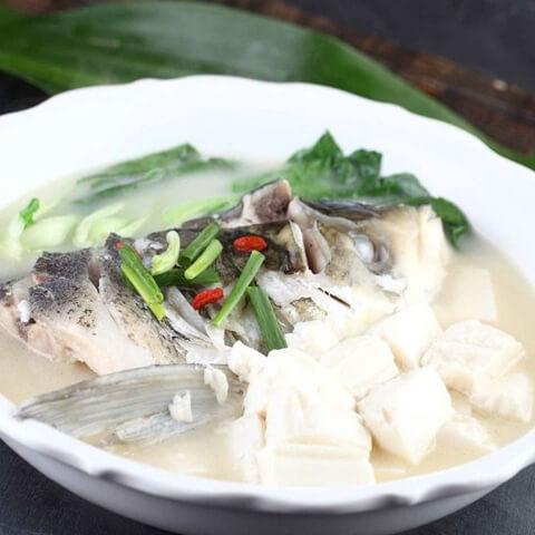 记忆中的鱼头豆腐