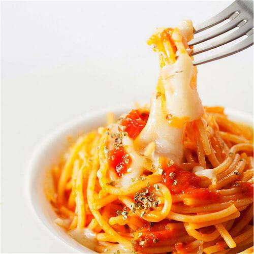 海鲜汤意大利面