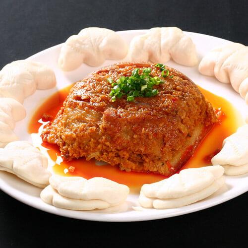 荷叶粉蒸肉