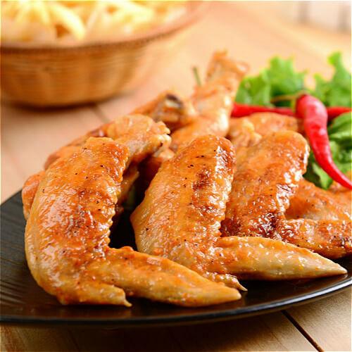 健康美食之蜜汁烤翅