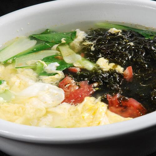 家庭版紫菜鸡蛋汤