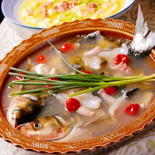美味四川泡菜鱼