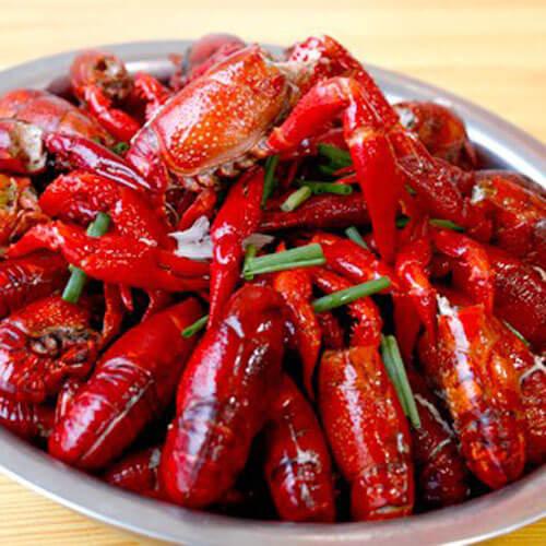 美味的潜江油焖大虾