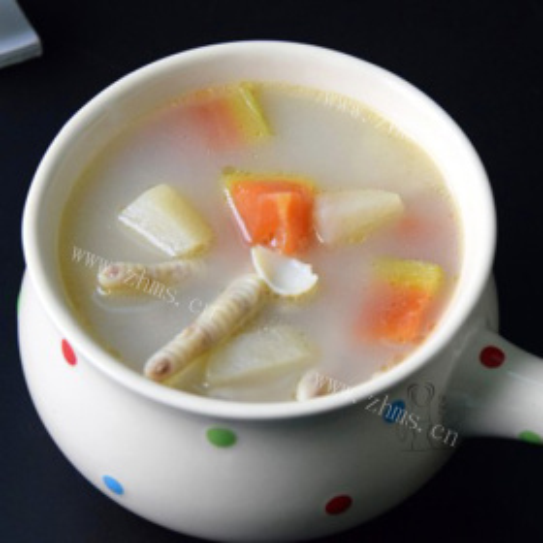 木瓜雪梨养颜汤